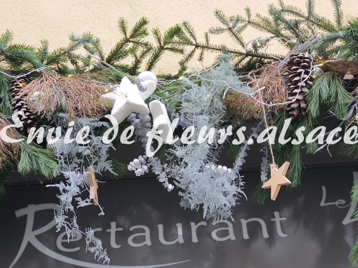Decoration de noel vitrine magasin